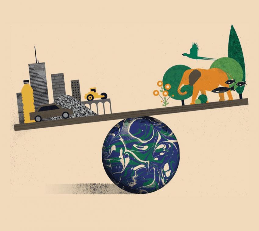 La masa de edificios, máquinas y carreteras superó a la vegetal este 2020