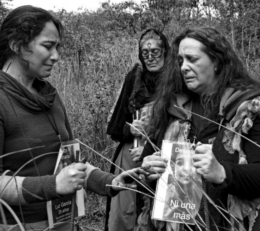 Las diosas subterráneas, obra teatral virtual que aborda las desapariciones de mujeres
