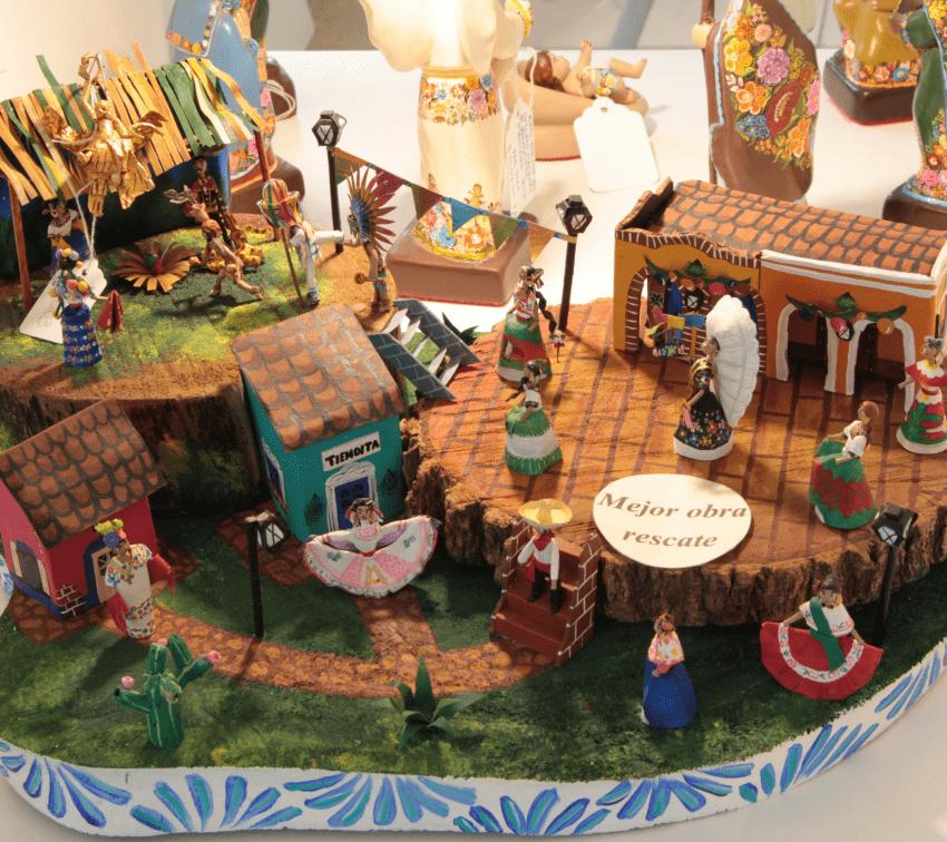 Artesanos de Cuetzalan obtienen 2º lugar en Concurso Nacional de Nacimientos
