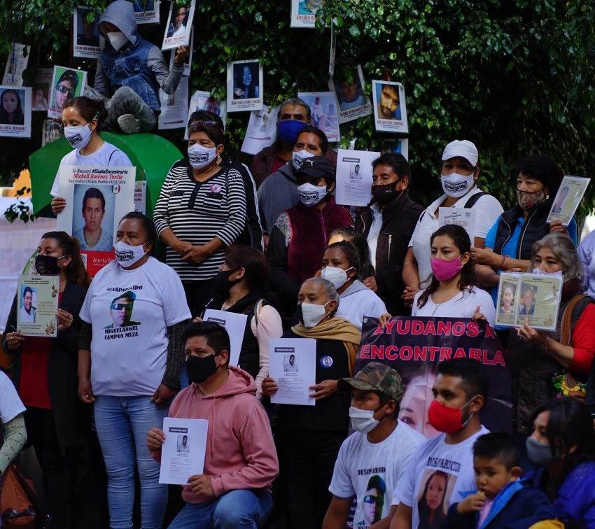 Congreso congela ley de búsqueda de personas desaparecidas en Puebla