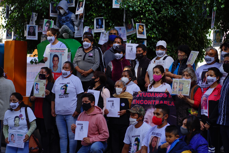 Las familias de personas desaparecidas reclaman que se les incluya en los procesos de búsqueda. Fotografía: Mario Galeana