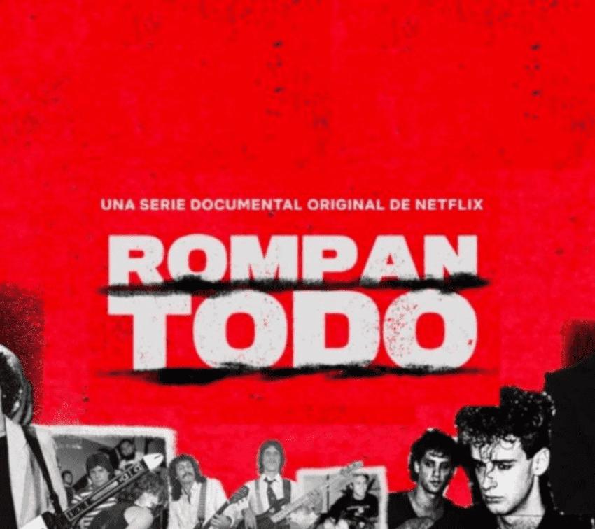 "Llega a Netflix ""Rompan Todo"", serie sobre la historia del rock latinoamericano"