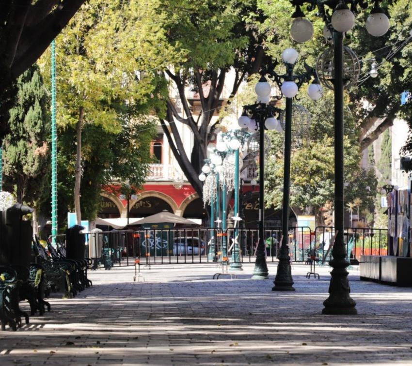 Anuncian nuevo cierre en calles del Centro Histórico de Puebla