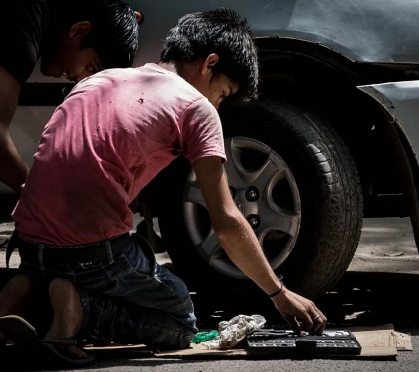 200 mil menores en Puebla tienen trabajos que afectan su desarrollo