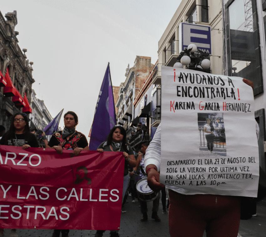 Una de cada cinco mujeres desaparecidas en Puebla no ha sido localizada