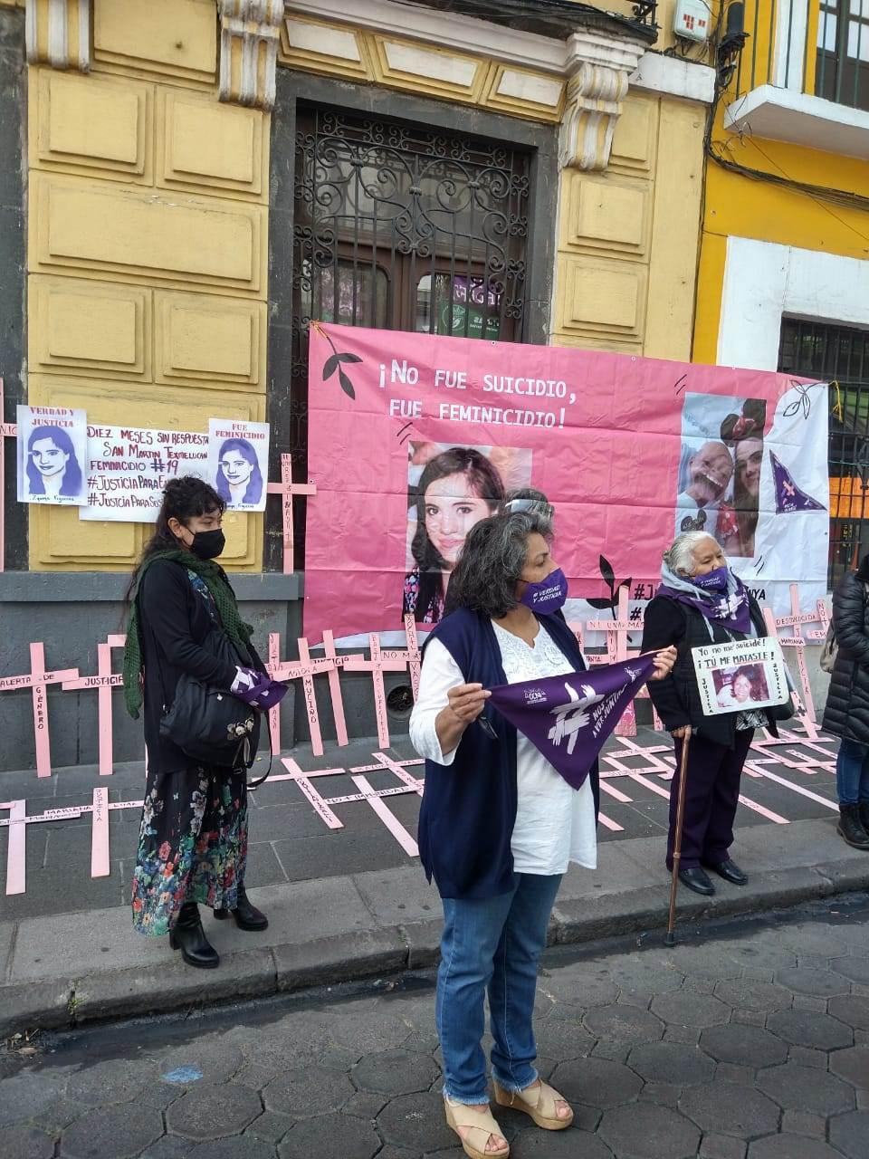 El OCFN ha detectado que los casos de feminicidio no son investigados con perspectiva de género por parte de la Fiscalía de Puebla. Fotografía: Guadalupe Juárez