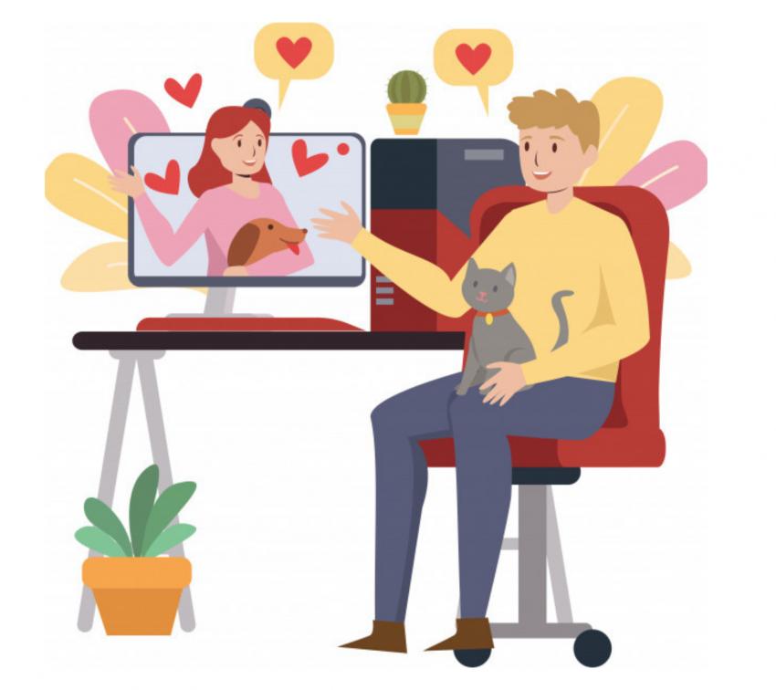 Amor de lejos es de pandemia; tips para una cita en línea