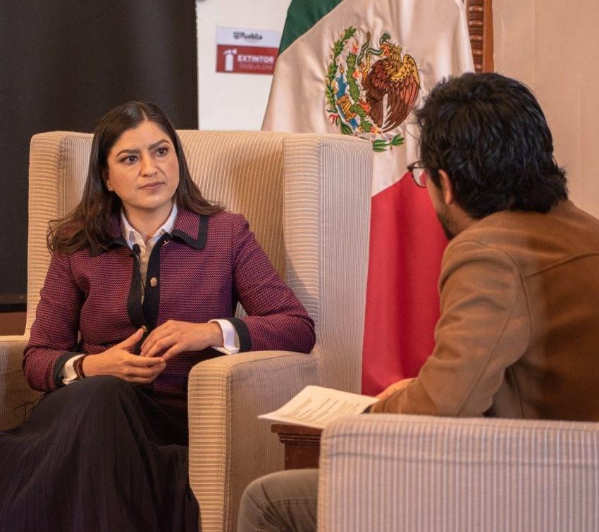 Claudia Rivera frente a la posibilidad de la reelección