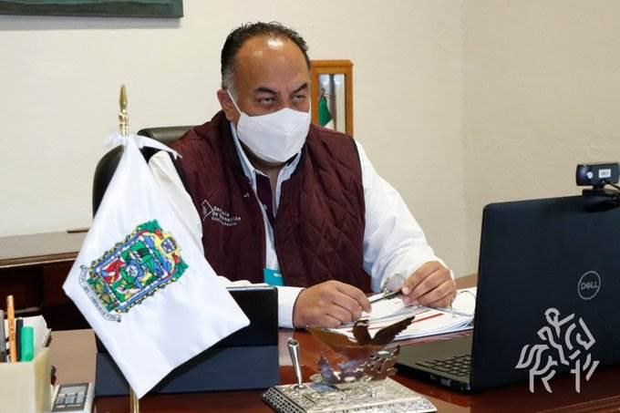 David Méndez informa sobre la situación de personas desaparecidas en Puebla