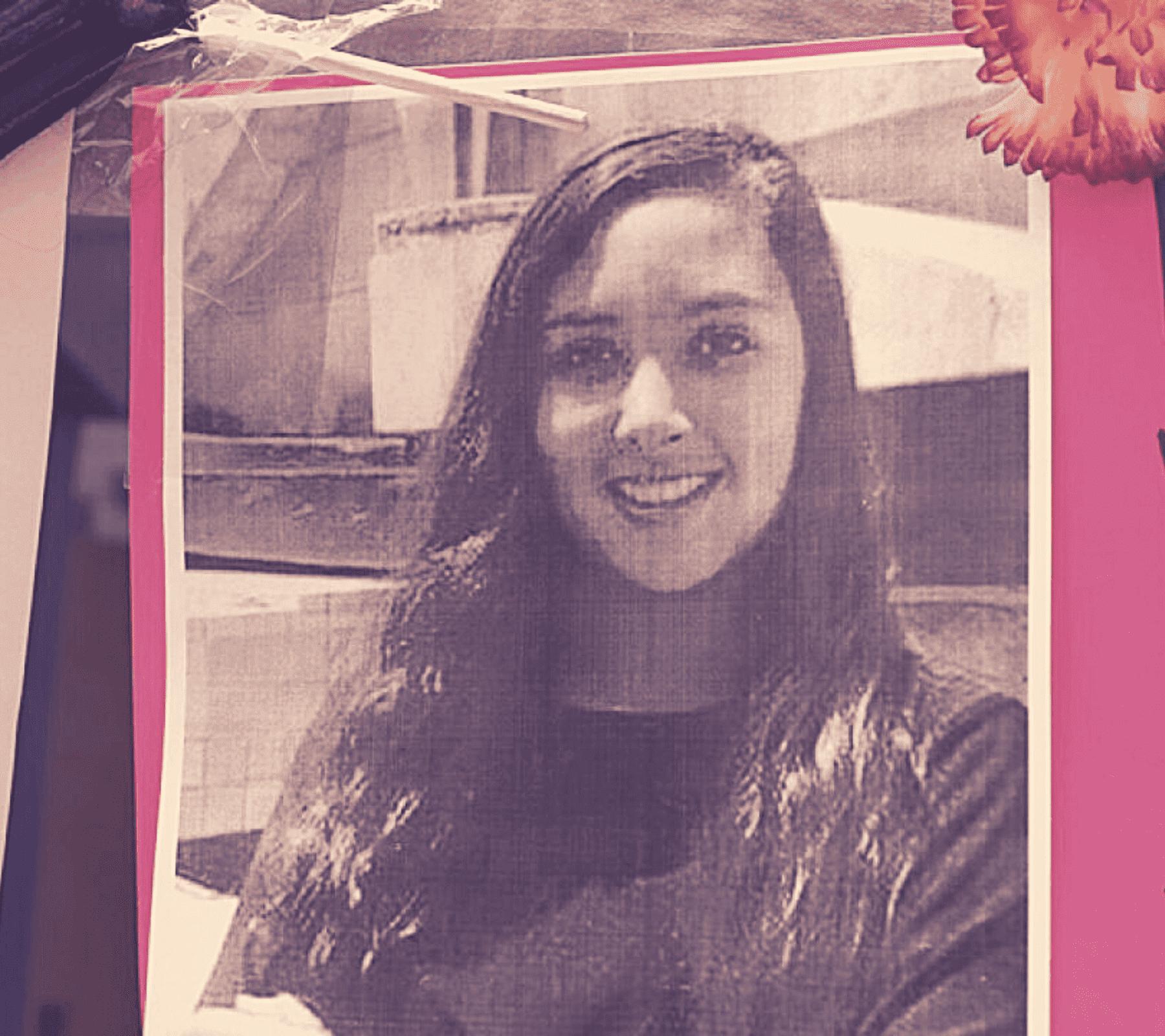 Fotografía de Mara Castilla, víctima de feminicidio en Puebla
