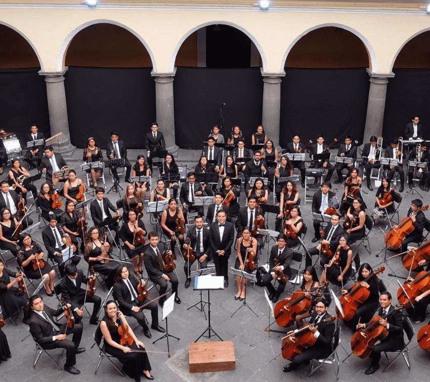 Una orquesta filarmónica de puertas abiertas en Puebla