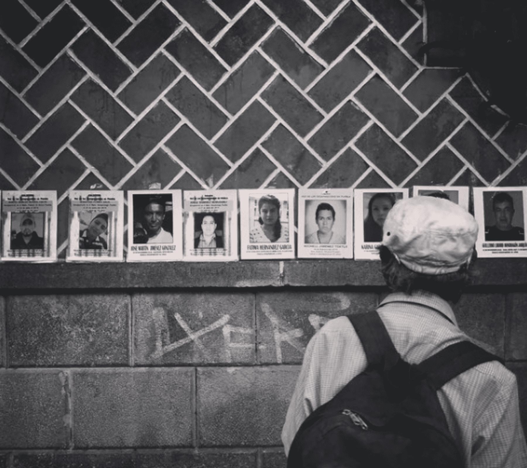 Fotografía ilustrativa: Personas desaparecidas en Puebla