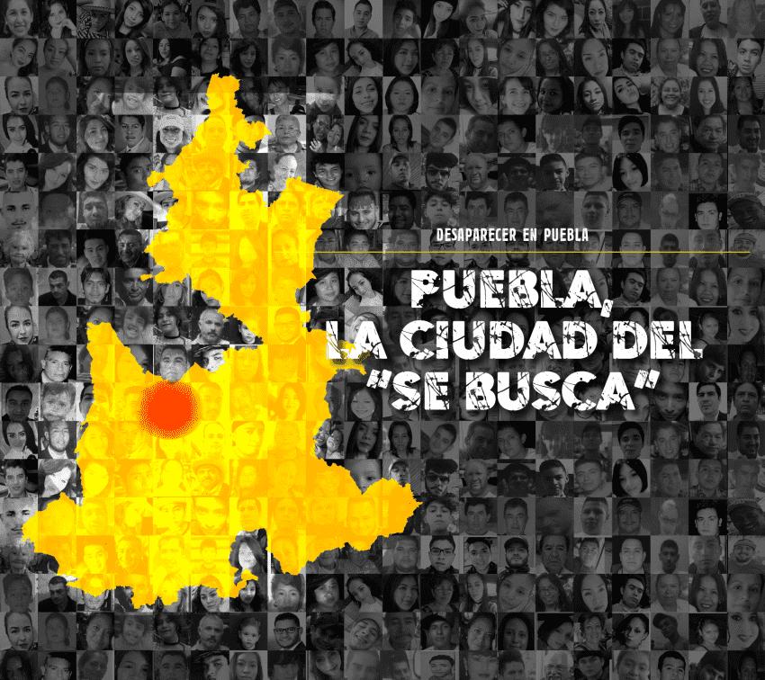 """Puebla, la ciudad del """"Se busca"""""""