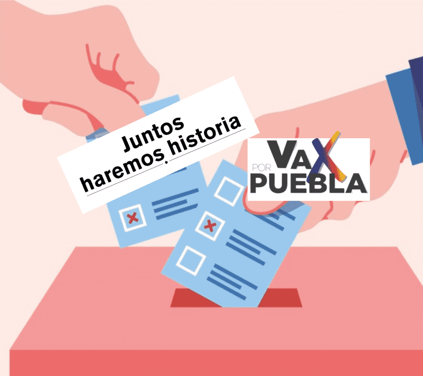 Partidos formalizan alianzas para elecciones en Puebla