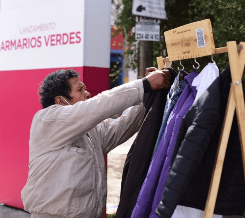 «Armarios verdes», una iniciativa para intercambiar ropa de segunda mano