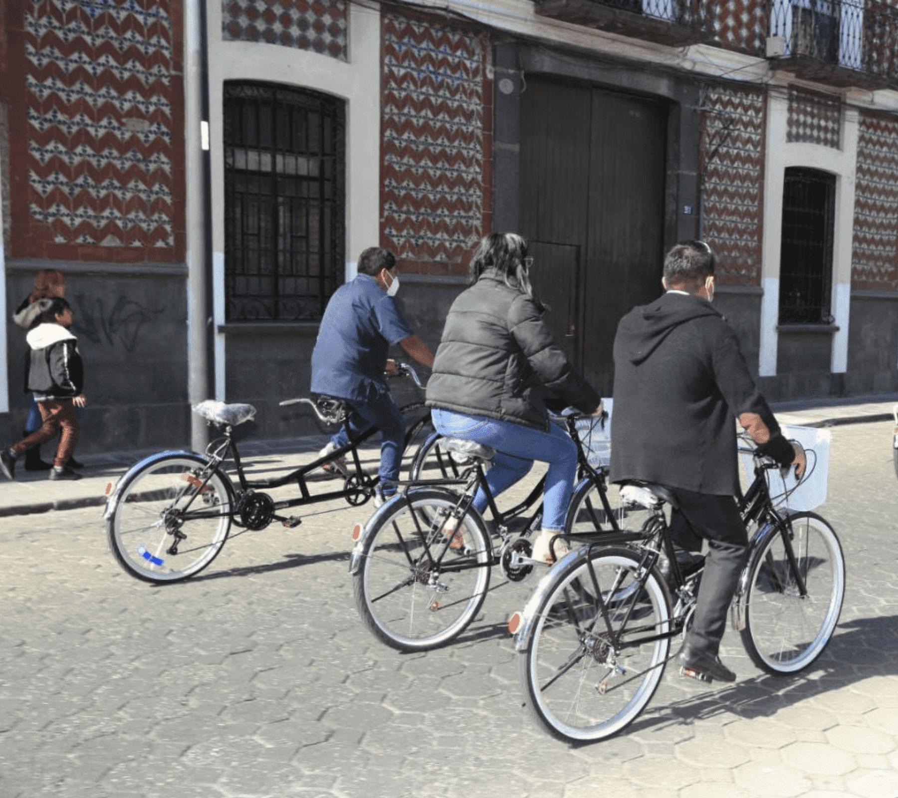 bicicletas en hoteles de puebla