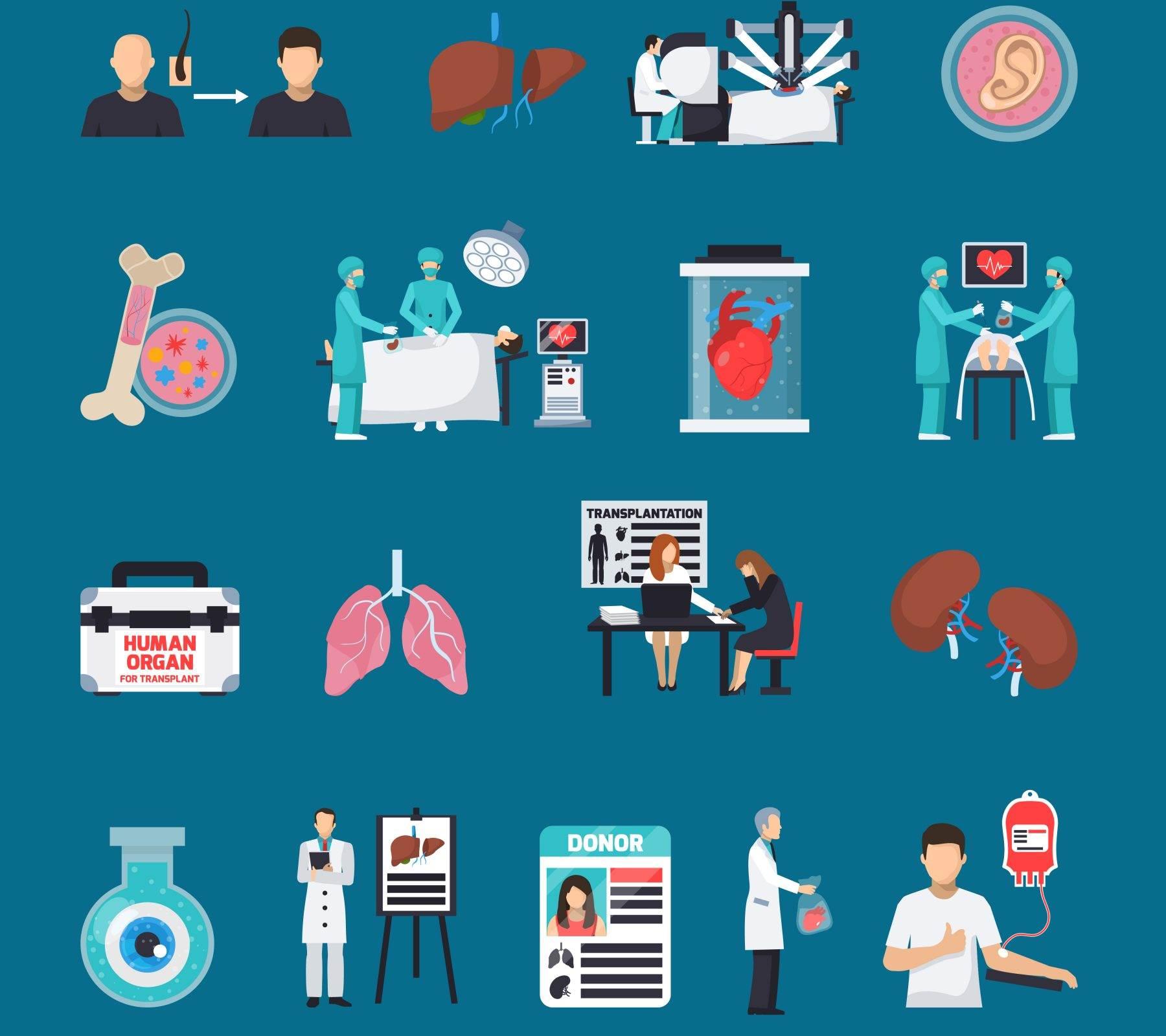 Imagen ilustrativa: Trasplante de órganos en Puebla