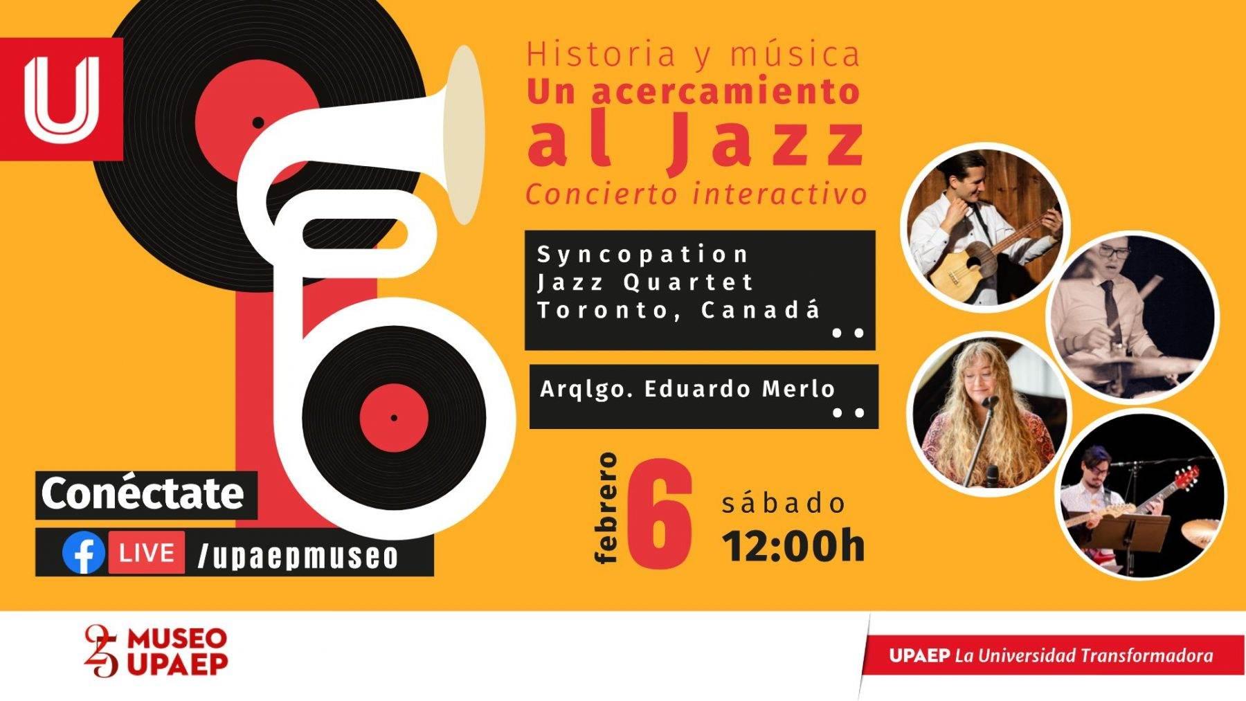 ¿Qué hacer el fin de semana? Te proponemos varios conciertos de jazz, un recorrido virtual por el Castillo de Chapultepec y más.