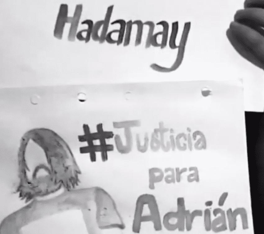Estudiantes de Filosofía continúan exigiendo justicia para Adrián y Hadamay