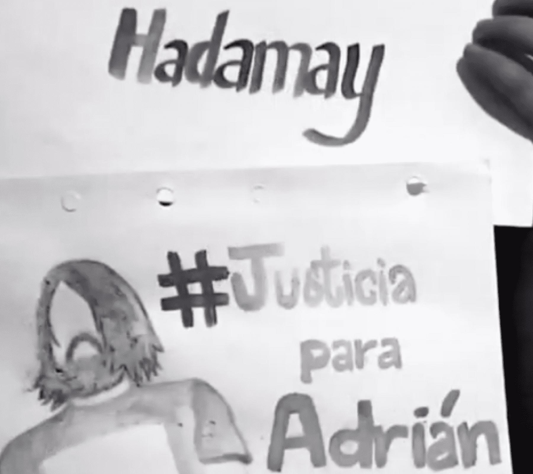 justicia para adrián y hadamay buap