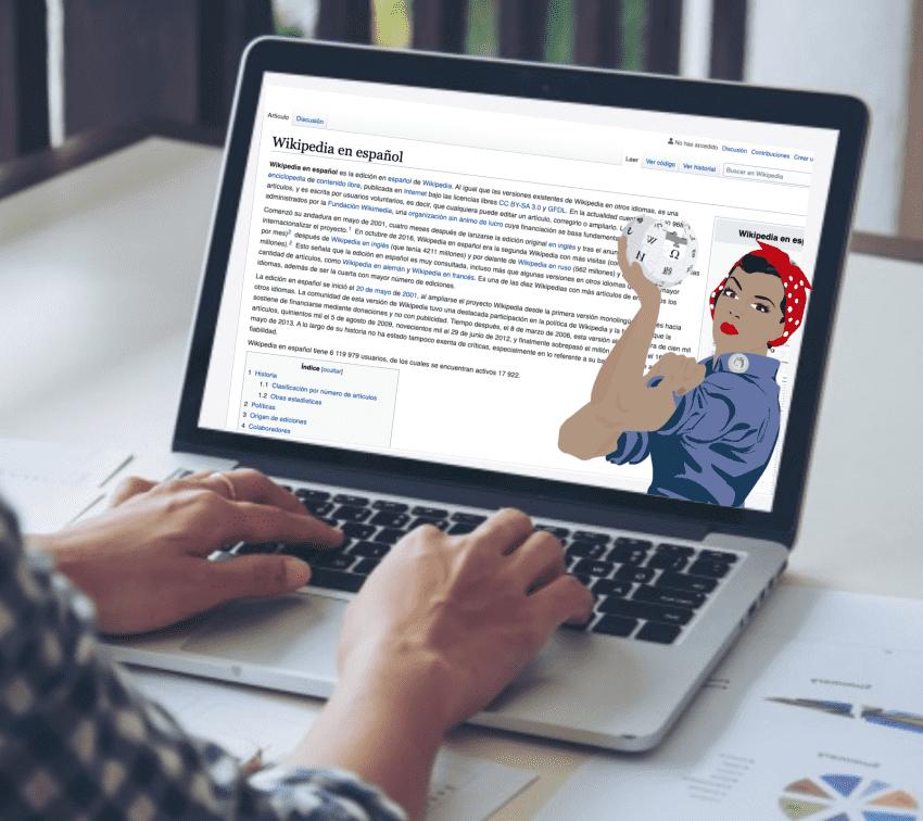 Reescribiendo la vida de poblanas destacadas en Wikipedia