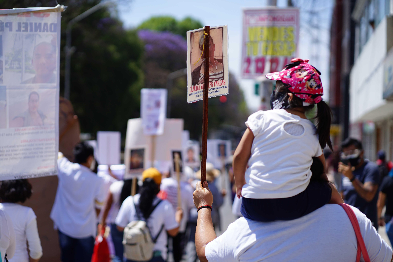 Mujeres desaparecidas 8M Puebla Fotografía: Mario Galeana