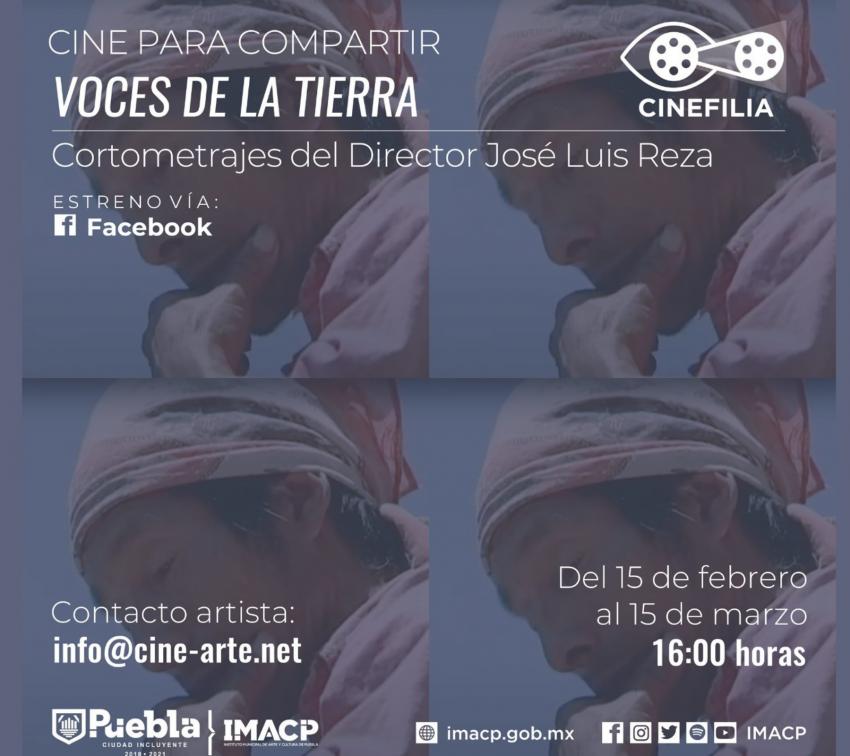 """Cinefilia busca impulsar talentos locales de Puebla con """"Cine para compartir»"""