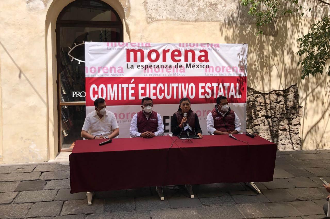 Claudia Rivera Morena Puebla candidata