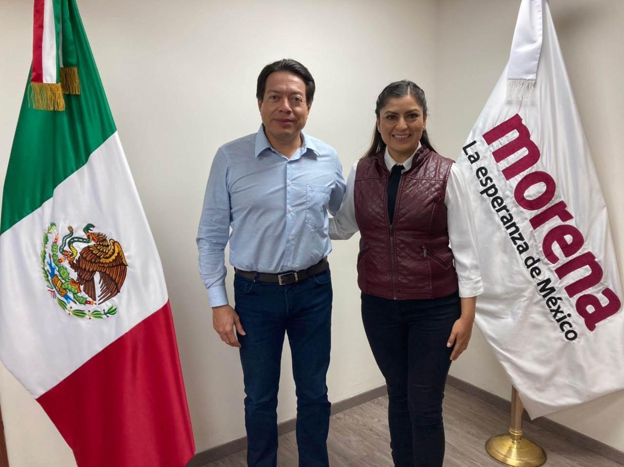 Claudia Rivera candidata Morena Puebla