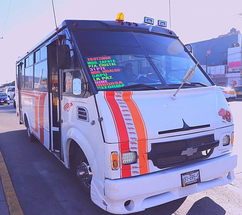 La «modernización» del transporte público en Puebla sigue estancada
