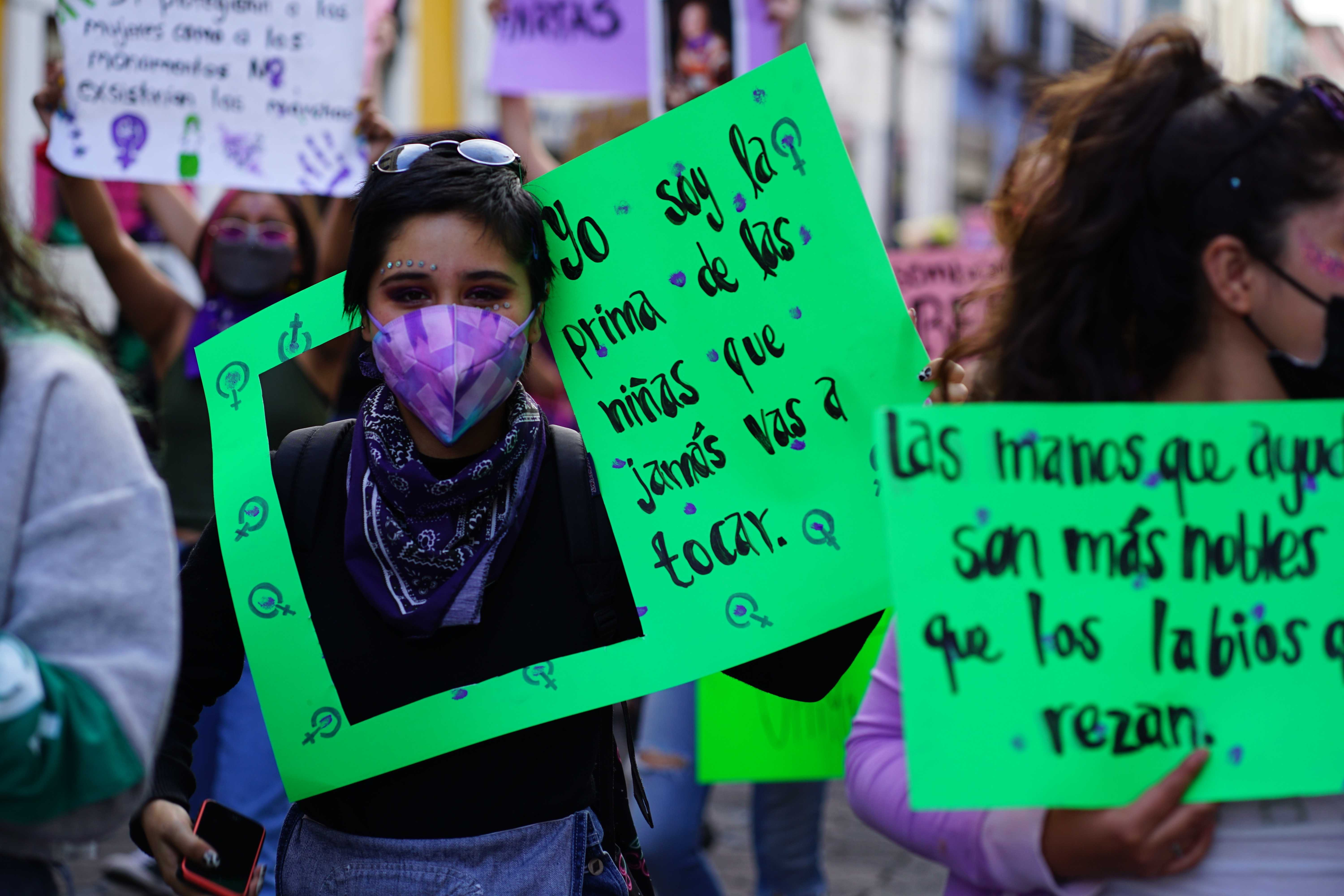 Mujeres marcha 8M