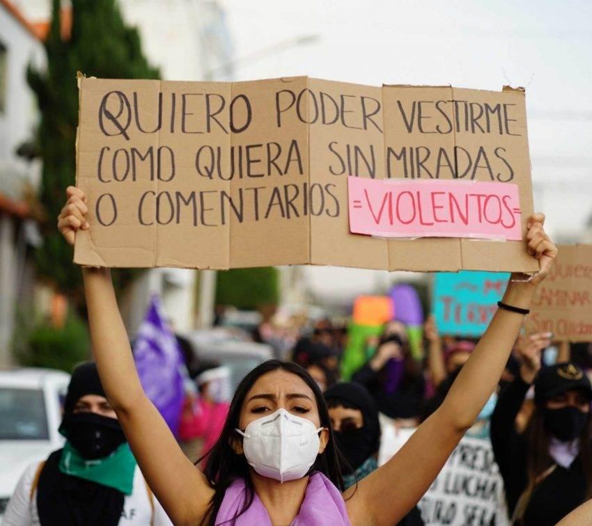 Miles de mujeres en Puebla vuelven a tomar las calles