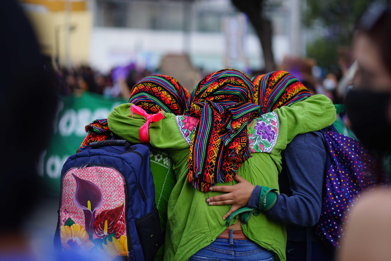 Marcha mujeres 8M Puebla