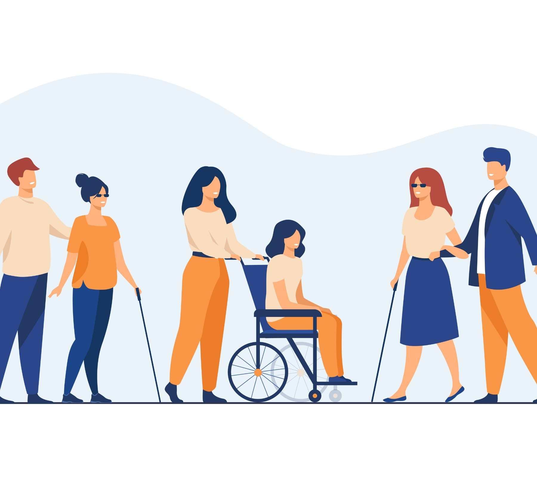 Personas con discapaciddad partidos políticos