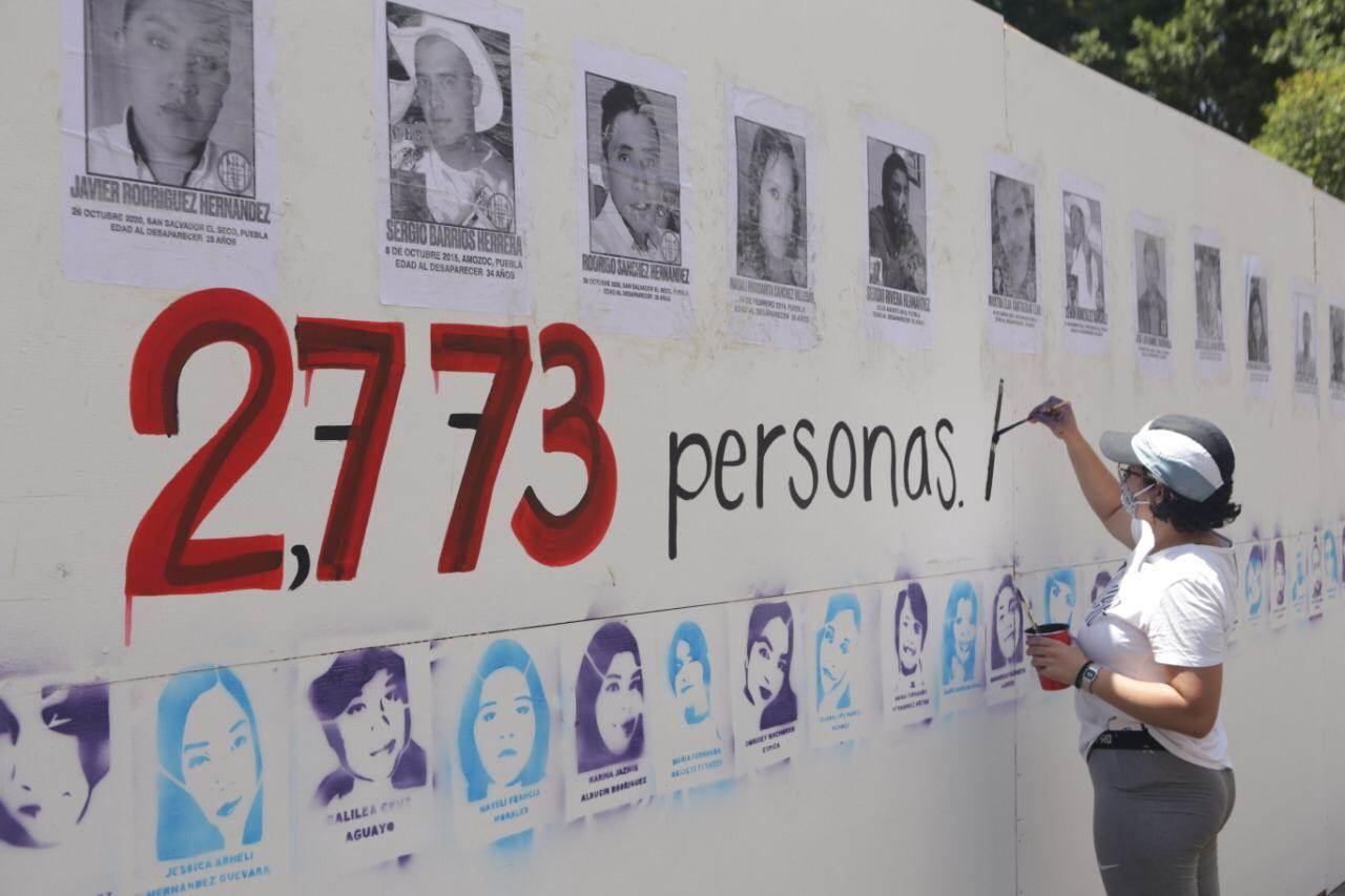 En Puebla discrepan las cifras de personas desaparecidas. Sin embargo, autoridades y colectivos civiles coinciden en que se trata de más de 2 mil 700 personas no localizadas.