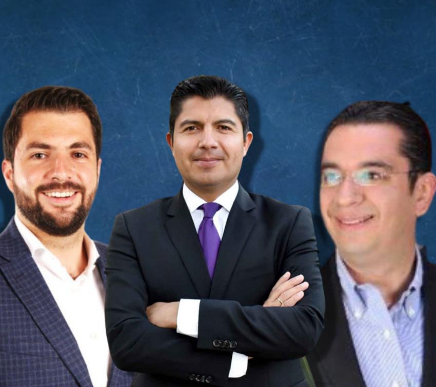 Van tres por la candidatura del PAN a la alcaldía de Puebla