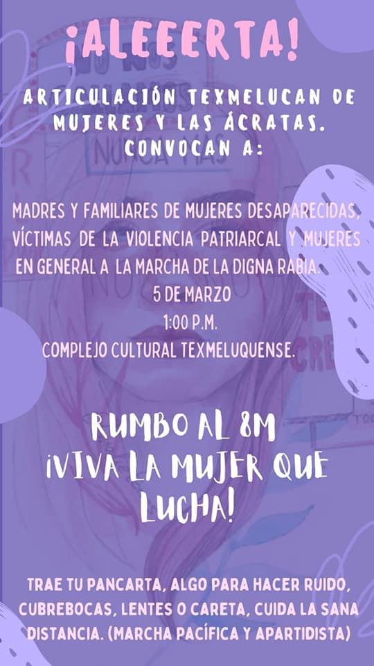 El #8M en Puebla también se vivirá fuera de la capital.