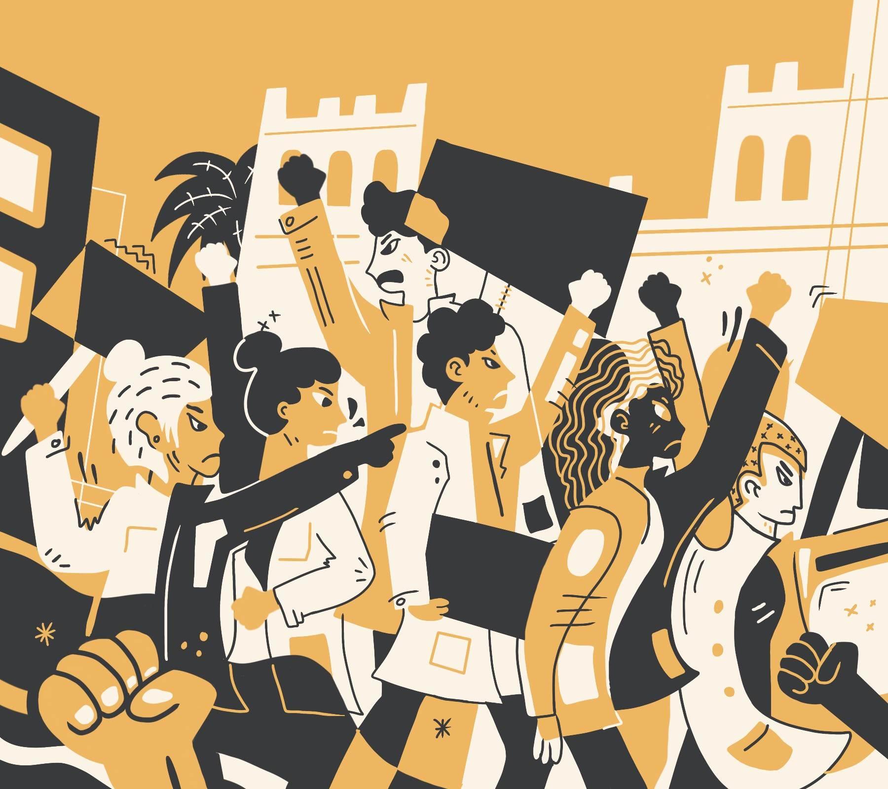 megamarcha movimiento estudiantil 2