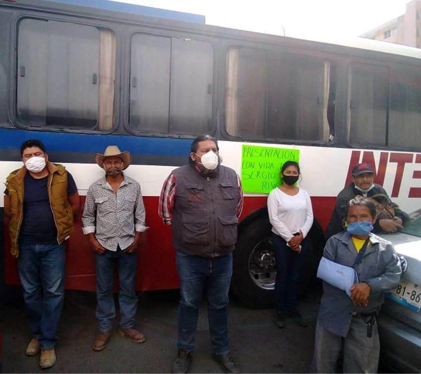 Piden retomar búsqueda del activista Sergio Rivera y cancelar hidroeléctrica