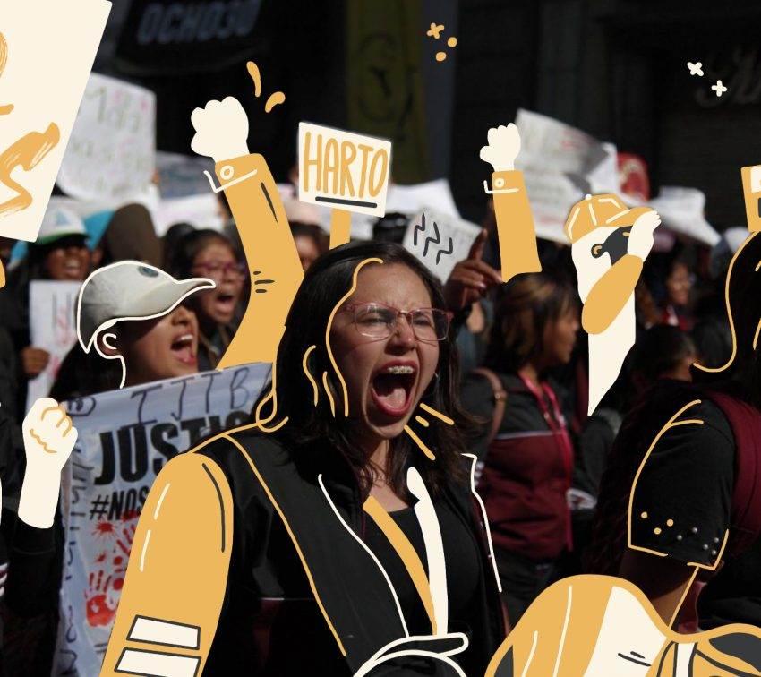 La violencia alcanza a siete estudiantes en Puebla tras megamarcha