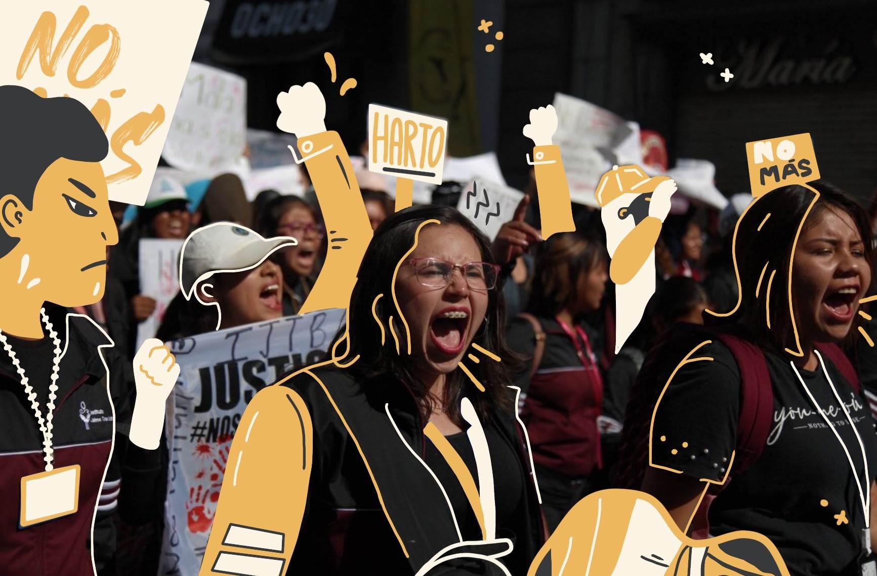 Marcha estudiantes