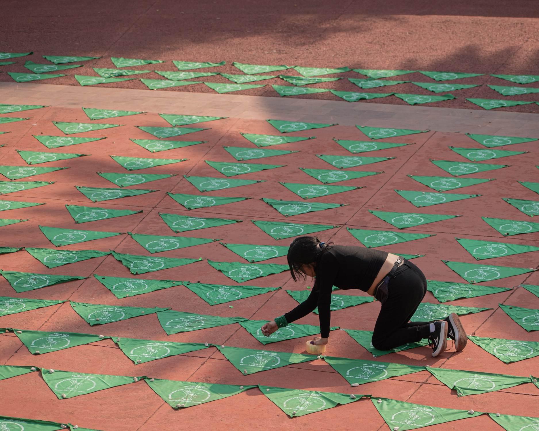 La despenalización del aborto en Puebla ha sido una de las principales demandas de los movimientos feministas en el estado. Fotografía: Daniel Chazari