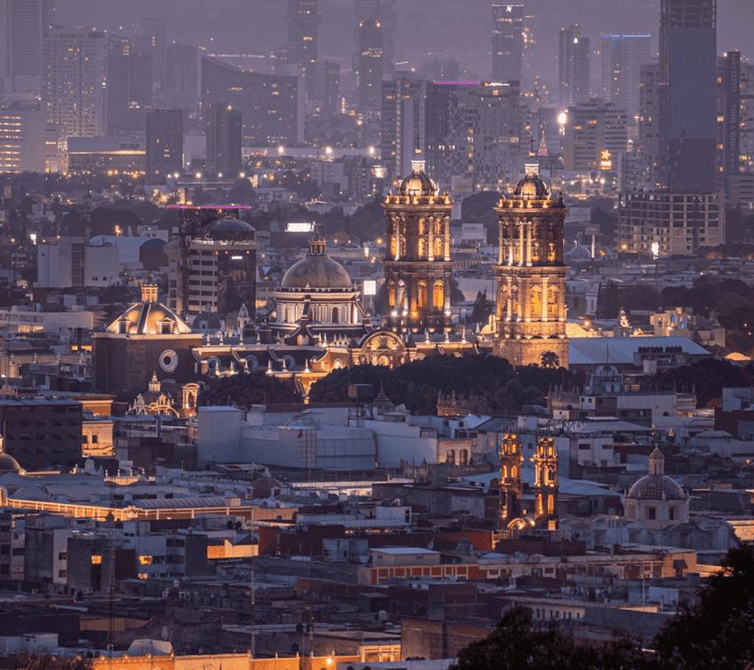 Doce postales para celebrar el 490 aniversario de la fundación de Puebla