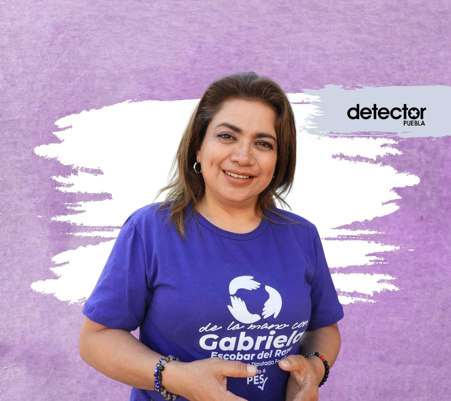 Gabriela Escobar PES Puebla