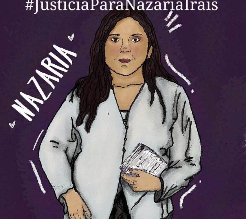 Protestan en Cholula por probable liberación de implicados en el feminicidio de Nazaria Iraís