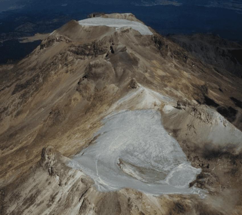 Se extingue el glaciar de Ayoloco en el Iztaccíhuatl