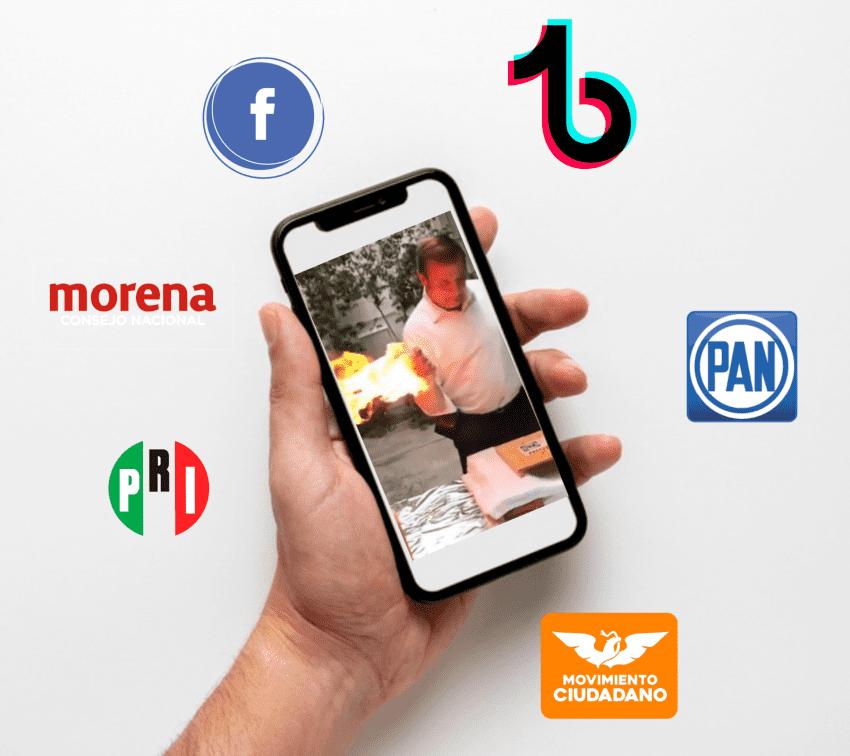 Out of context campañas electorales en Puebla