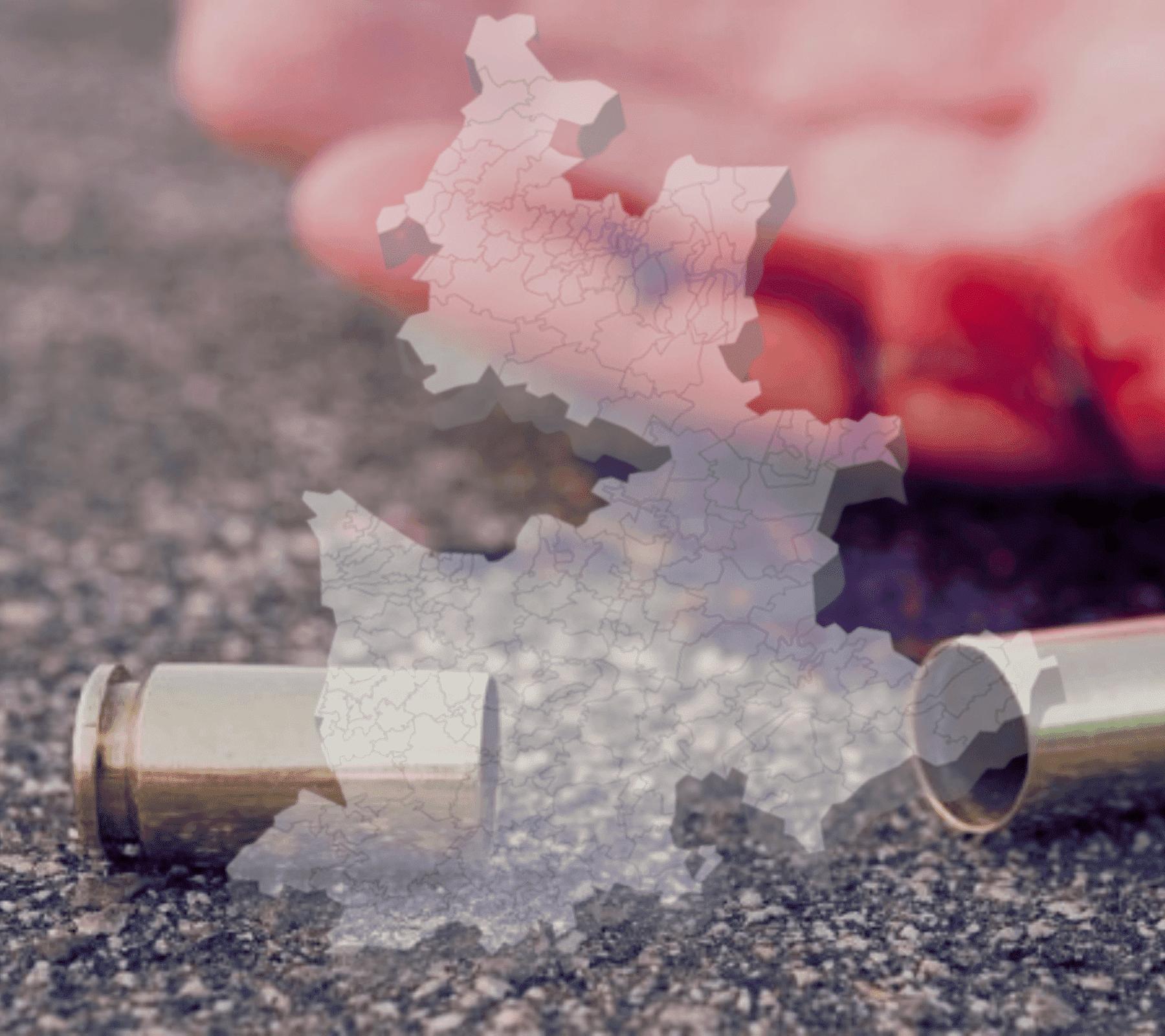 Puebla envuelta en violencia homicida