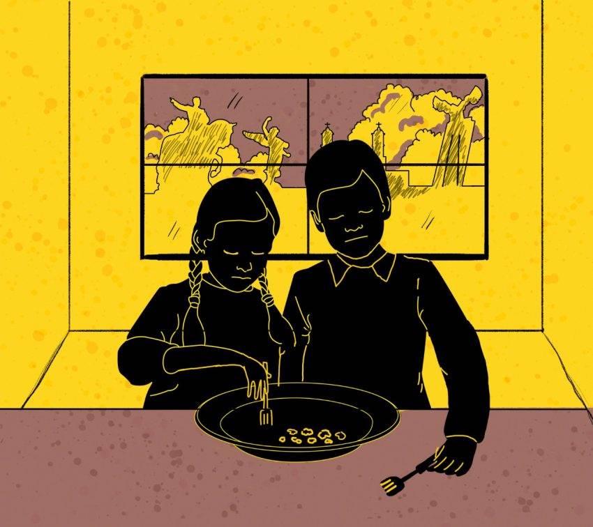 El plato (vacío) de las infancias en Puebla