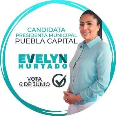 Fotografía de la candidata del PANA en la capital de Puebla
